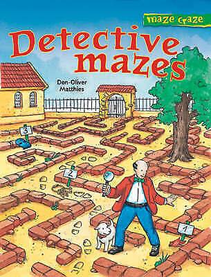1 of 1 - Maze Craze: Detective Mazes-ExLibrary