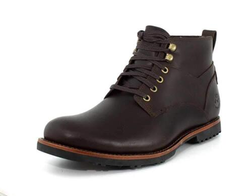 Men/'s Timberland Kendrick Chukka Lace Up Boots Dark Brown Leather A1SUH