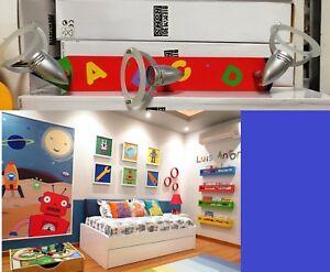 Plafoniere Camerette Bambini : Plafoniera lampadario a luce per cameretta bambini collezione