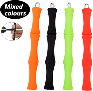 Details about  /Archery Bowstring Finger Saver Guard Soft Silicone Finger Tab For Left And Right