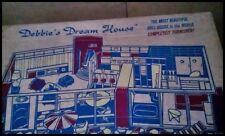 Vintage DEBBIE'S DREAM HOUSE DOLLHOUSE FURNISHED
