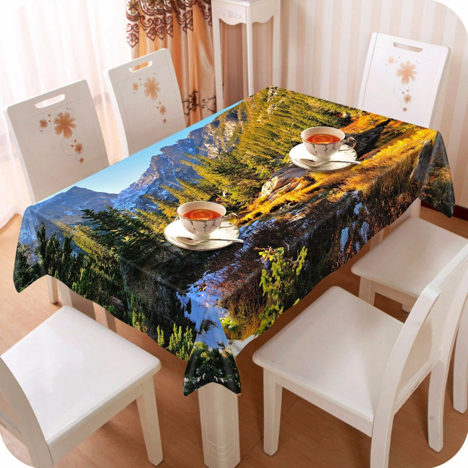3D Peak 47736 Tablecloth Table Cover Cloth Birthday Party Event AJ WALLPAPER AU