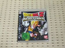 DRAGONBALL Z Burst Limit per PlayStation 3 ps3 PS 3 * OVP *
