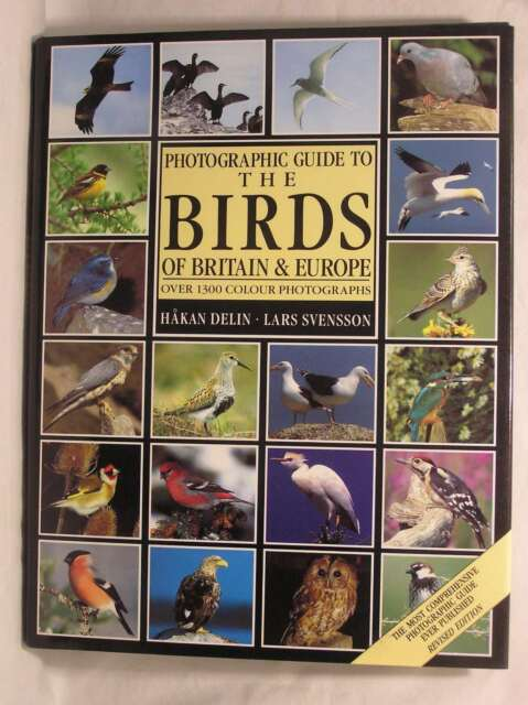 Photographic Guide to the Birds of Britain and Europe, Svensson, Lars, Delin, Ha