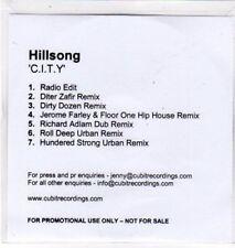 (BS977) Hillsong, C.I.T.Y. - DJ CD
