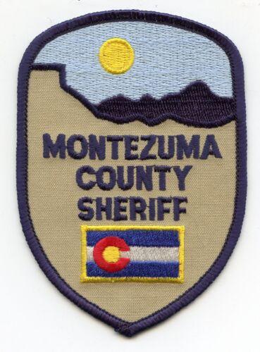 MONTEZUMA COUNTY COLORADO CO SHERIFF POLICE PATCH