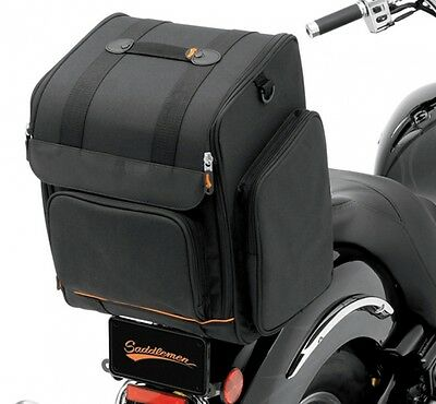 Saddlemen Ssr1900 Universal Sissy Bar Luggage Rack Bag