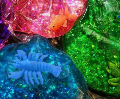 Squishy Glitter Ball Large Big Sensory Educational Toy Special Needs Kids ADHD