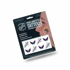 Rico Industries NCAA Unisex Face Tattoos 8-Piece Set