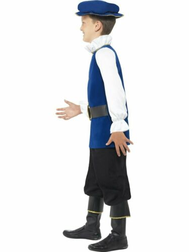 CK760 Boys Royal Tudor Medieval Historical Shakespeare Costume Book Week Outfit