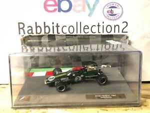 DIE-CAST-034-BRABHAM-BT24-1967-DENIS-HULME-034-FORMULA-1-COLLECTION-1-43