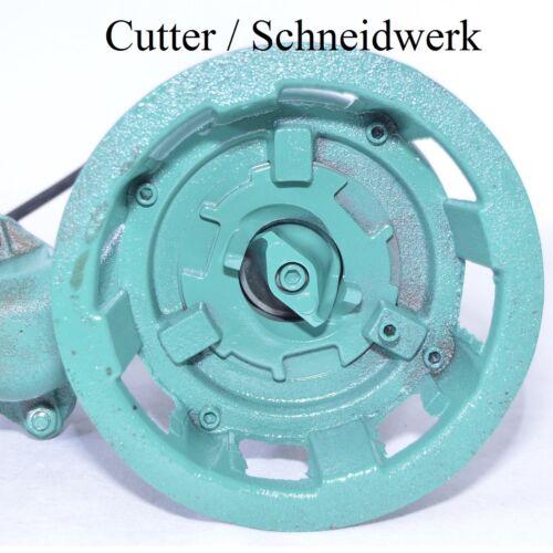 Cutter  250-300l//min Profi Fäkalienpumpe Schmutzwasserpumpe m Schneidmesser