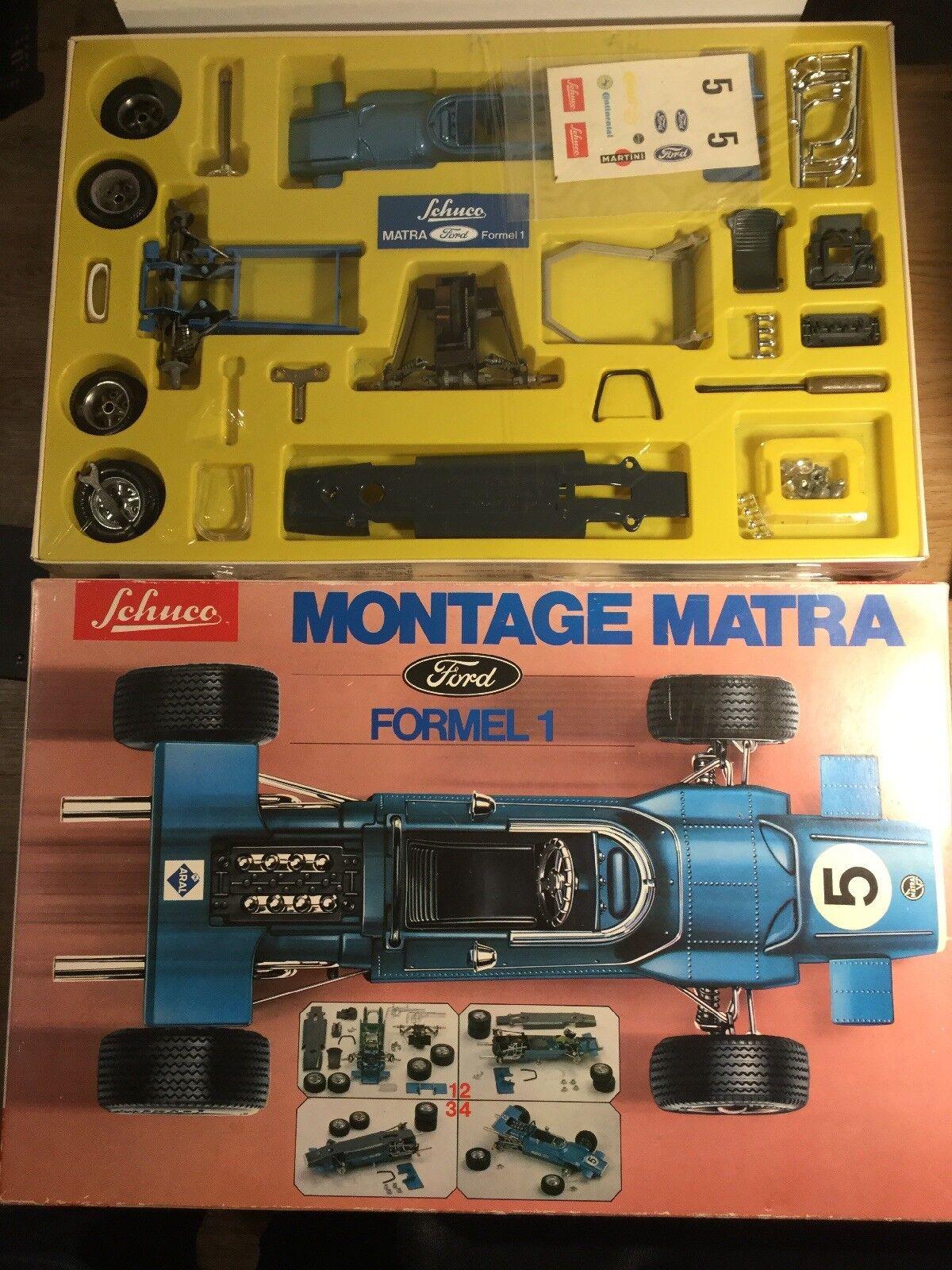 Vintage Schuco montaje Matra Ford Fórmula 1 Ex Tienda Stock En Caja Sellada