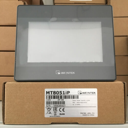 In Stock New /& Original MT8051iP Weintek//Weinview HMI 4.3 inch Touch Panel