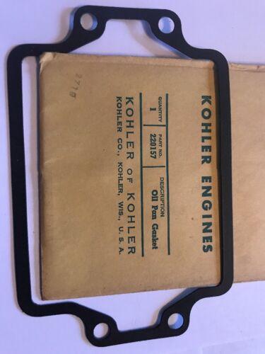 220157 or 220157S Genuine Kohler Oil Pan Gasket