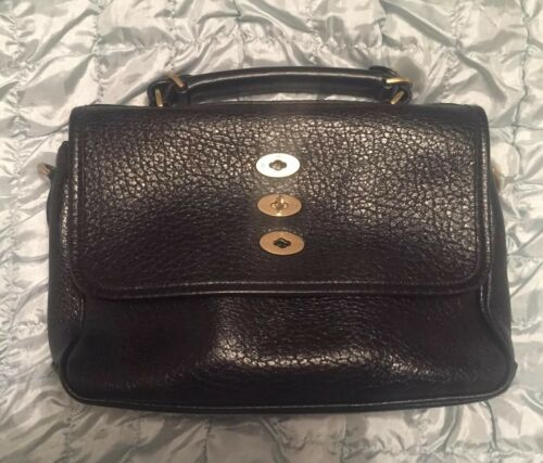 Grain Black Bryn Mulberry Handbag Shiny xHwxqdZg