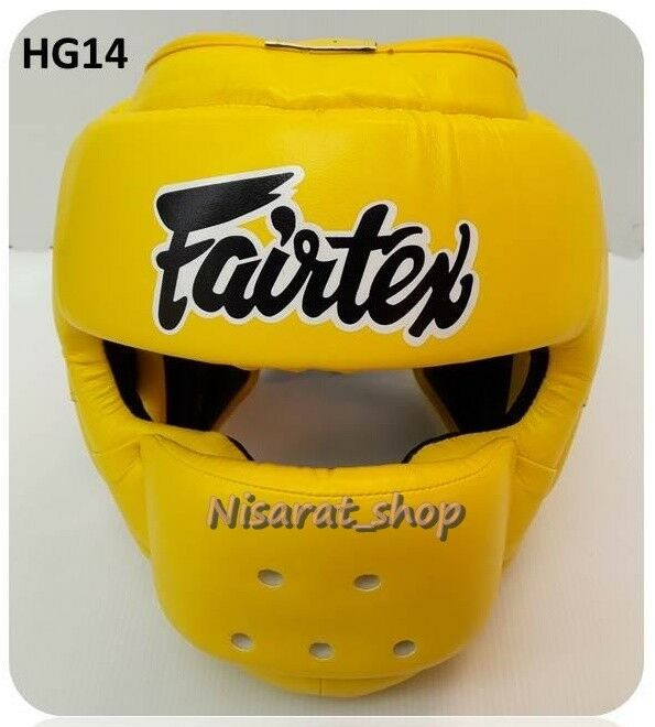 NEUE HAUPTGUAREN FAIRTEX HG14 Gelb M,L,XL MUAY THAI PROTECTOR MMA K1