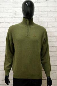 Maglione-Uomo-KAPPA-Taglia-L-Maglia-Felpa-Pullover-Sweater-Man-Lana-Regular-Fit