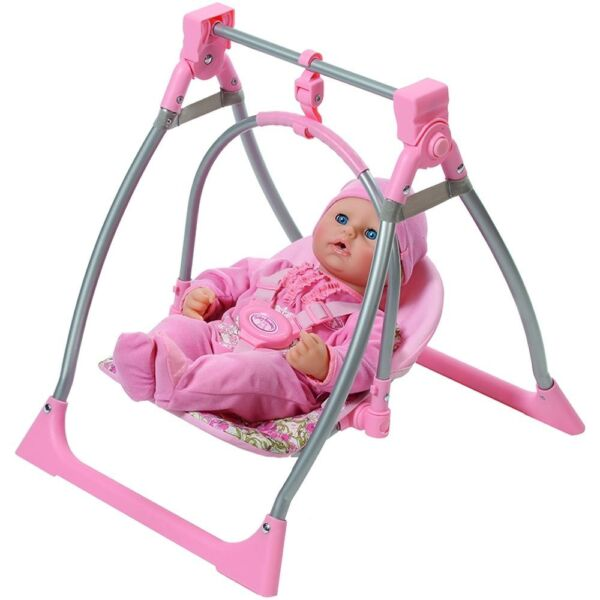 Baby Annabell 3 In 1 Highchair Swing And Comfort Seat