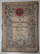 Der deutsch-österreichische Krieg 1866. Der Jugend und dem Volke erz.v. Hugo Elm