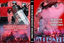 DVD ROTER STERN - PARTIZAN 2004-2005 || DELIJE ||ZVEZDA || GROBARI || BEOGRAD ||