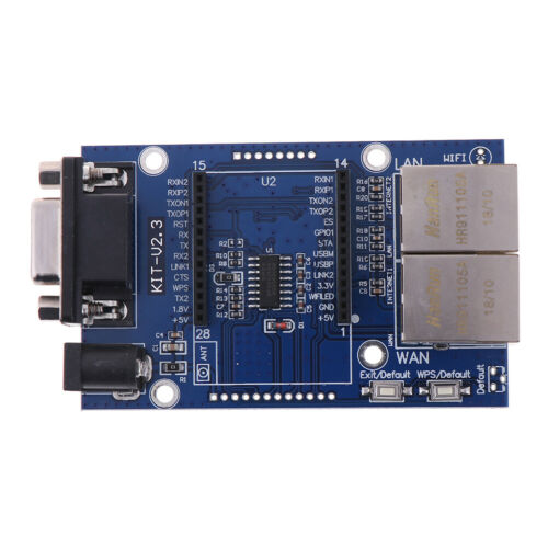 HLK-RM04 TCP IP Ethernet Converter Module Serial UART RS232 to WAN LAN WIFI// MO