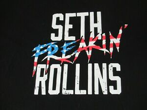 We-Wwe-Wrestling-Seth-Freakin-Rollins-Nero-3XL-T-Shirt-D293