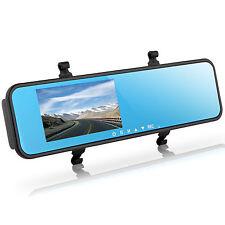 New 4.3'' Video Recorder Dash Cam Rearview Mirror Car Camera DVR