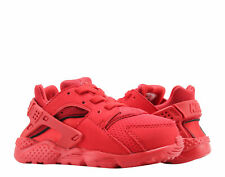 RARE Nike Air Huarache Run Shoes Toddler Size 9c Red 704950-600 EUC