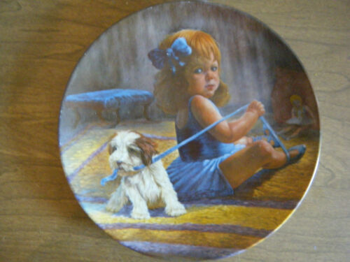 """Ballerina's Dilemma"" Collector Plate by Gregory Perillo for Vague Shadows 1980"