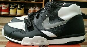wholesale dealer ff6e7 4ab84 Image is loading DS-RARE-VINTAGE-NIKE-AIR-TRAINER-1-PYTHON-