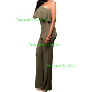 cd7ae639ef Details about Women Jumpsuit Romper Bodycon Playsuit Clubwear Trousers  Party Long Dress Pants