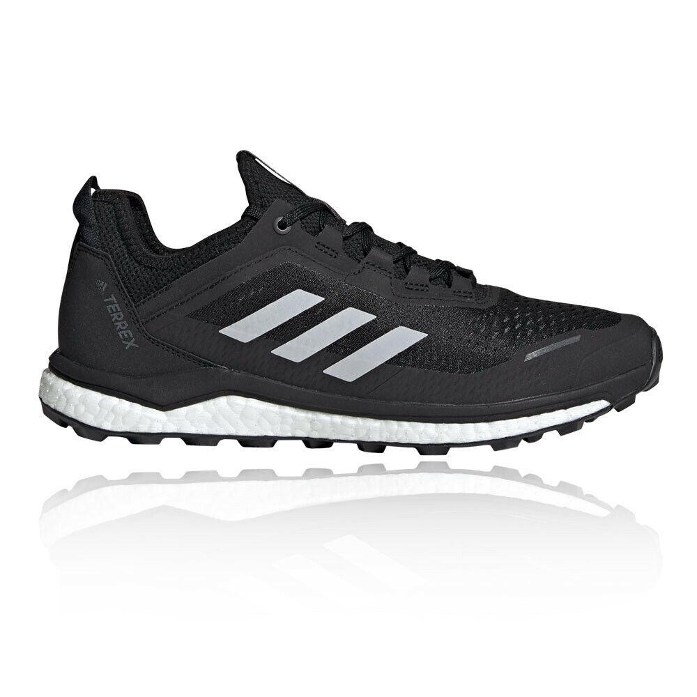 Adidas mannens Terrex Agravic FLaag hardlopen schoenen Trainers sportschoenen zwart