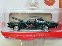 Johnny Lightning - Coca-cola - Christmas / Coke Winter - '69 Lincoln Continental
