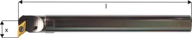Bohrstange 93 Grad m.IK. A16Q SDUCR 07 E/D/E Logistik-Cente
