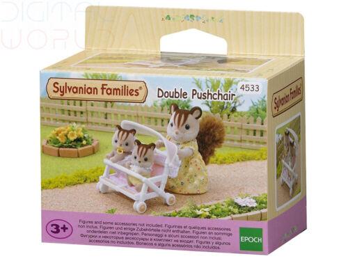 Sylvanian Families-Double Poussette