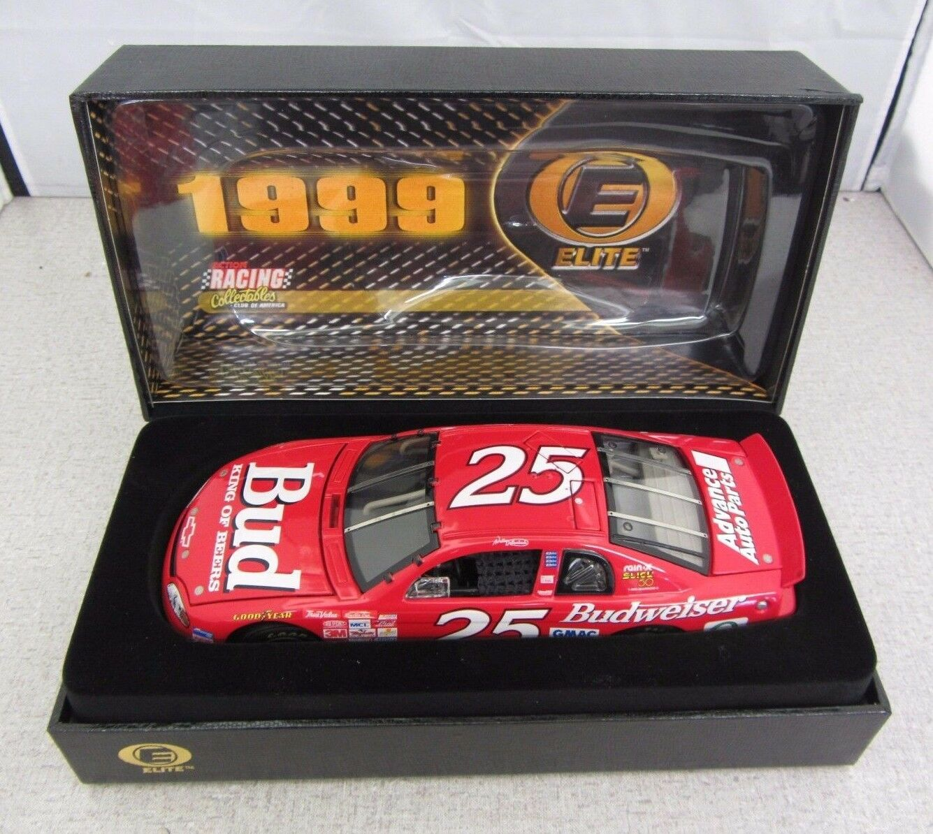 1999 Action Elite Wally Dallenbach Budweiser 1 24 24 24 Die Cast 1 of 800 075a40