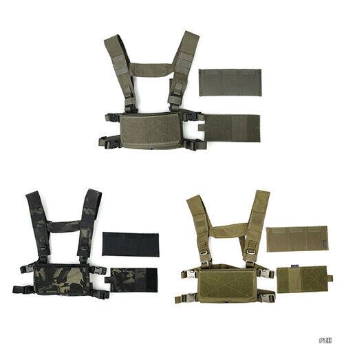 Gilet tattico leggero TMC3121 MODULARE petto rig Gruppo B Multi Coloreee