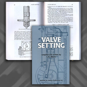 (Steam Engine) Valve Setting by L H Morris (Lindsay how to book)