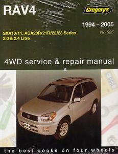 gregorys workshop repair manual toyota rav4 1994 2005 ebay rh ebay co uk Toyota Rav Manual Toyota Yaris Manual