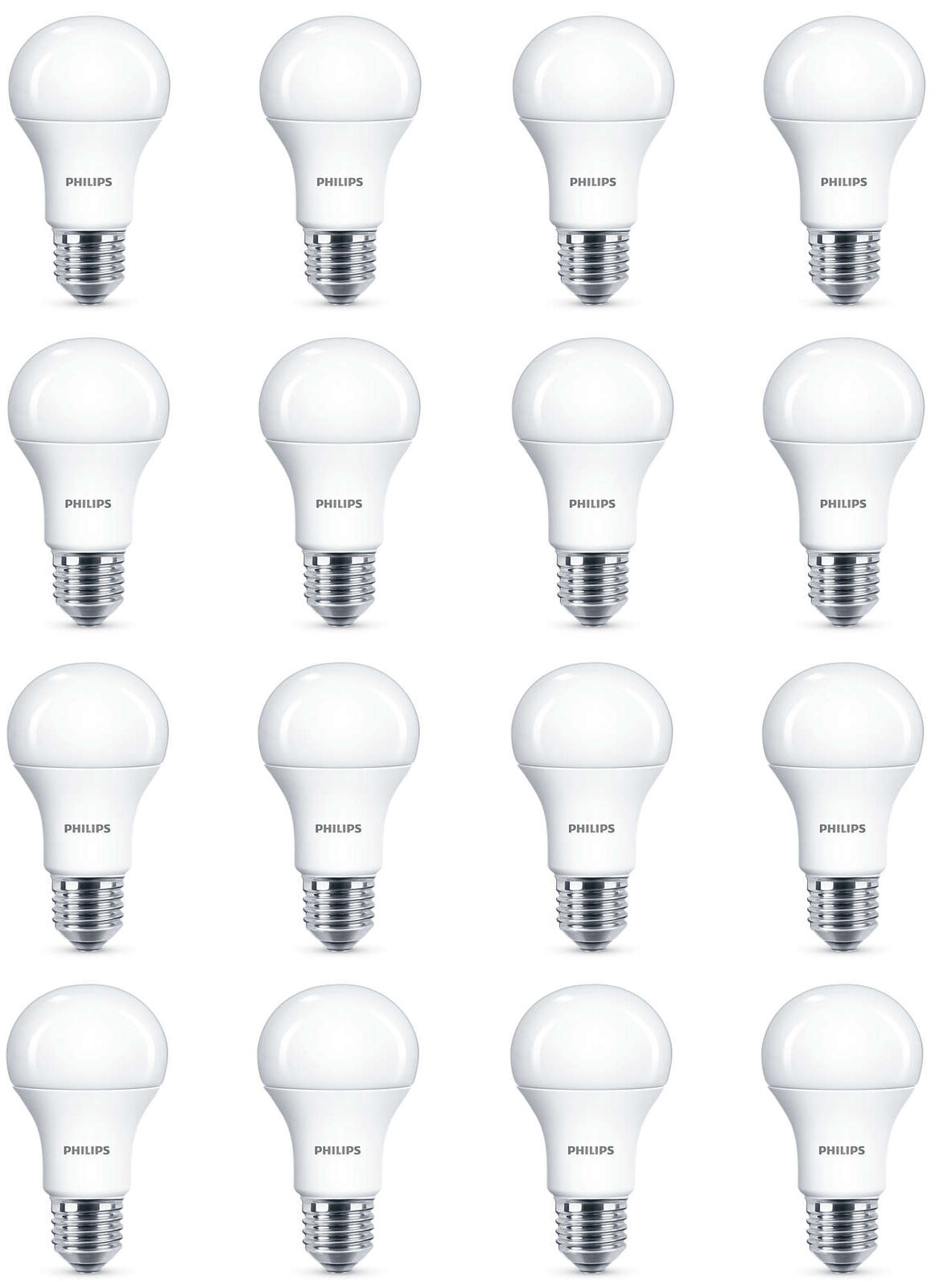 16 x Philips LED Frosted E27 Edison Screw 100w Warm Warm Warm blanco Light Bulb Lamp 1521lm 9584c7