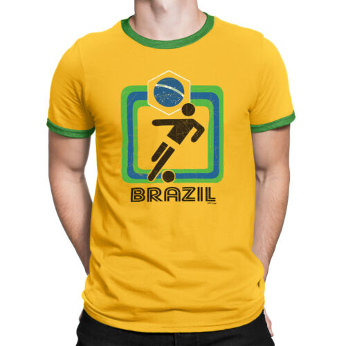 BRAZIL Womens World Cup 2019 T-Shirt Football Family Choice Of Mens Kids Baby