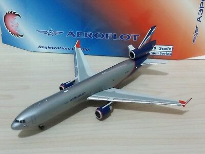 AEROFLOT Cargo McDonnell Douglas MD-11 Aircraft Model 1:400 Scale Phoenix NEW