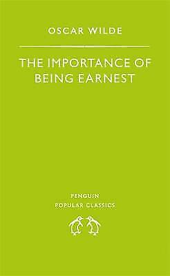 """""""AS NEW"""" Wilde, Oscar, The Importance of Being Earnest (Penguin Popular Classics"""