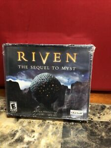 Vintage New 2000 RIVEN The Sequel To Myst PC Game Sealed