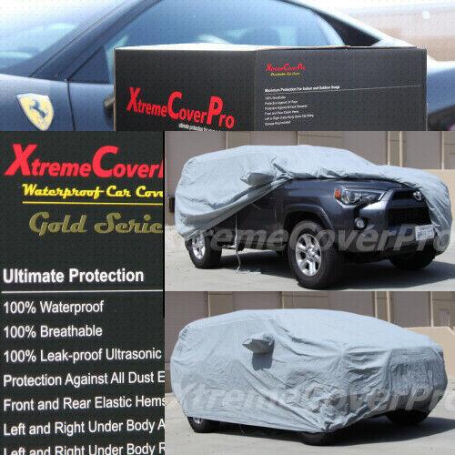 2001 2002 2003 2004 2005 Toyota 4Runner Waterproof Car Cover w//MirrorPocket GREY