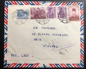 1961-Surabaya-Indonesia-Sea-Mail-cover-To-Vasa-Finland