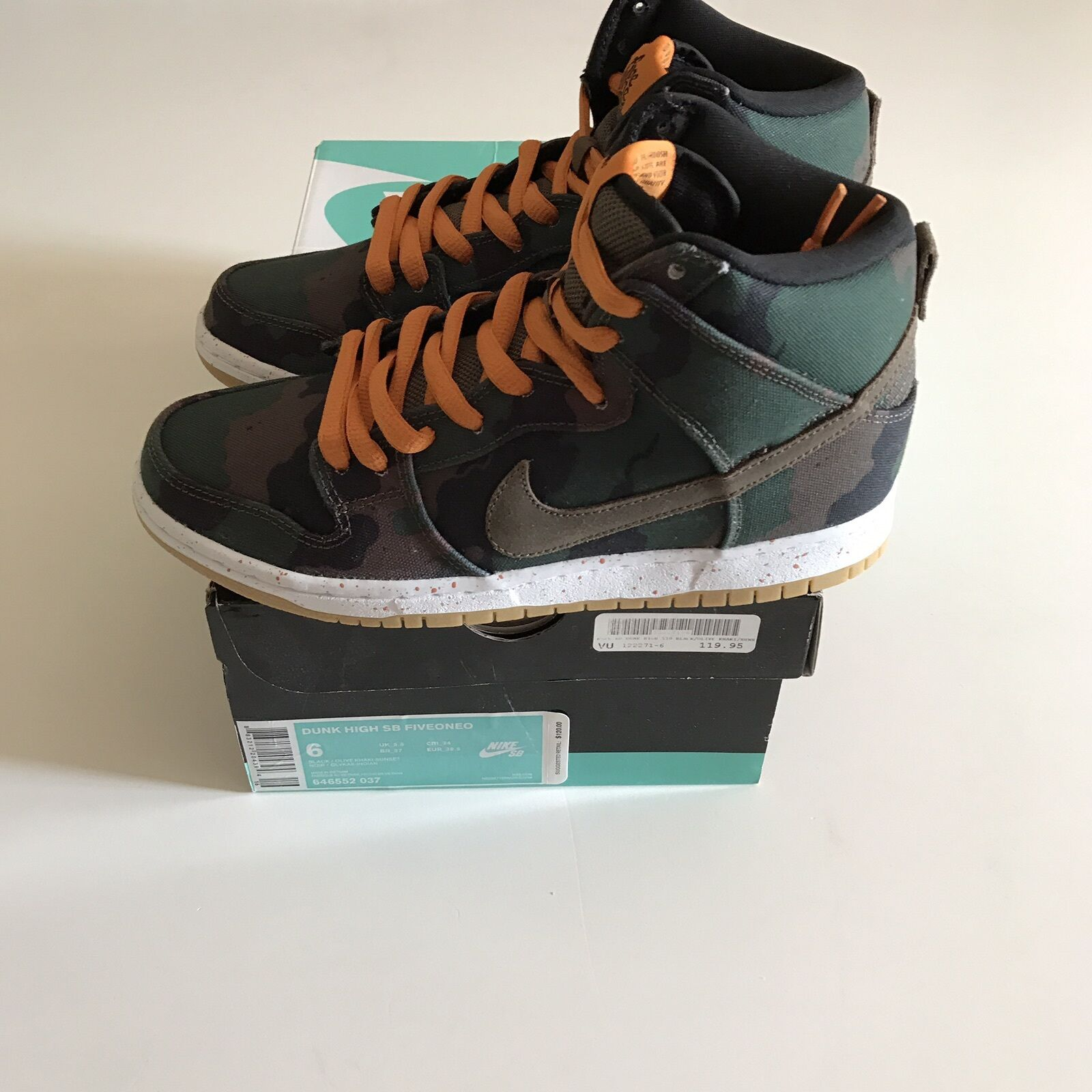 e74b3b593af7 NIKE SB DUNK WHAT THE FIVEONE0 646551-037 Size Size Size 6 NEW THOMAS  CAMPBELL
