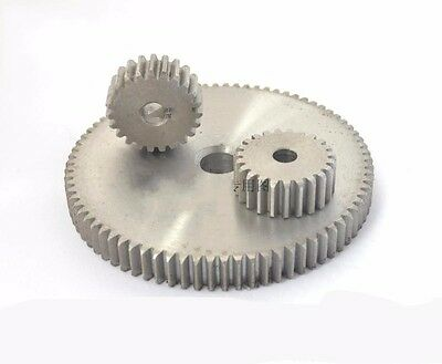 1 Mod 50T Spur Gears #45 Steel Pinion Gear Tooth Diameter 52MM Thickness 10MM