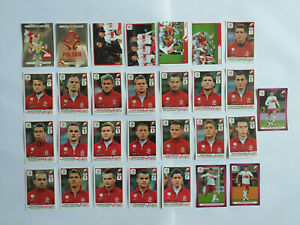 PANINI-EURO-2012-29-IMAGES-EQUIPE-COMPLETE-SET-TEAM-POLOGNE